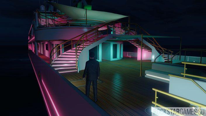 Мод Super Yacht для GTA 5
