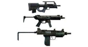 Пистолеты-пулеметы в тире GTA 5