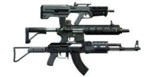 Штурмовые винтовки в тире GTA 5