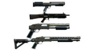 Дробовики в тире GTA 5