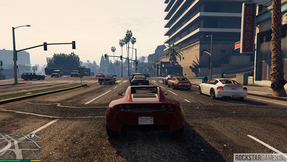 Редкие авто в сюжетной игре