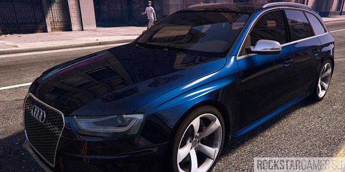 Мод Audi RS4 Avant для GTA 5