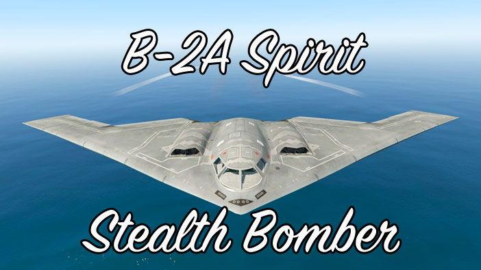 B-2A Spirit Stealth Bomber в ГТА 5