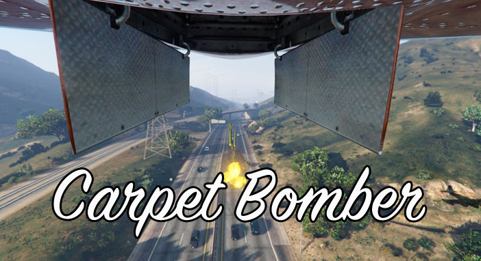 Мод Carpet Bomber для GTA 5
