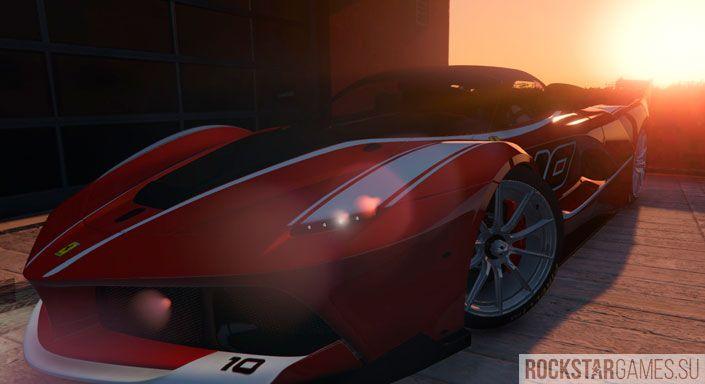 Мод Flavio Manzoni Ferrari GTA 5