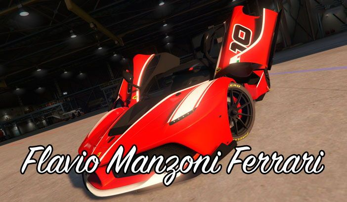 Flavio Manzoni Ferrari для ГТА 5