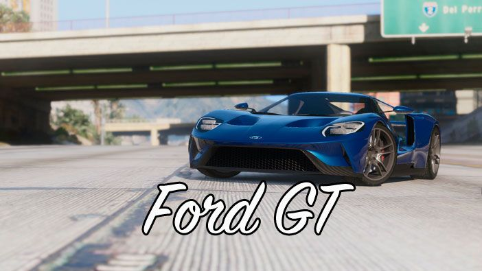 Мод Ford GT для GTA 5
