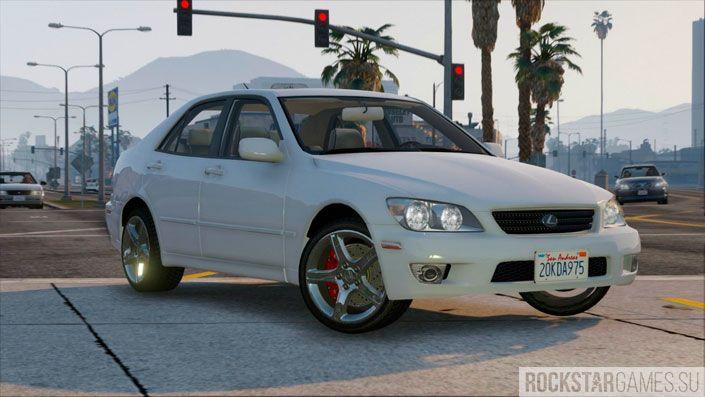 Мод Lexus IS300 для GTA 5