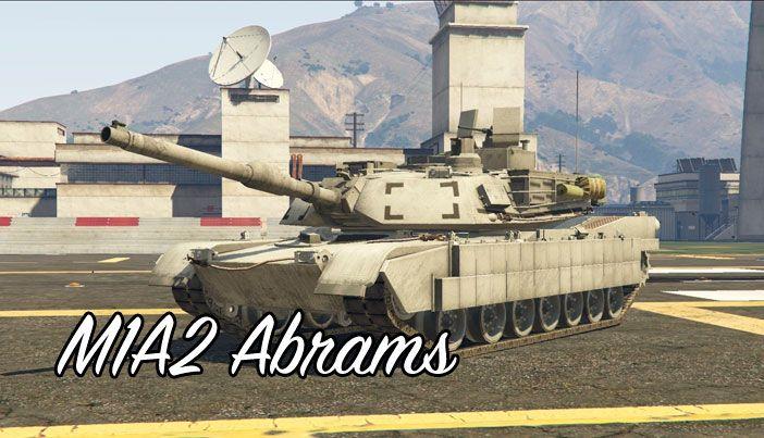 M1A2 Abrams в ГТА 5