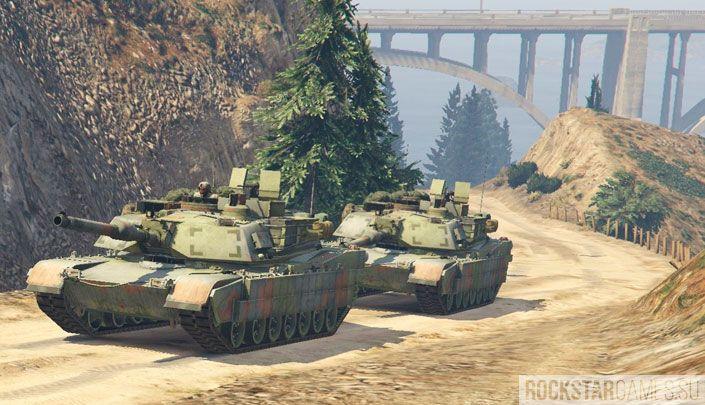 Мод M1A2 Abrams для GTA 5