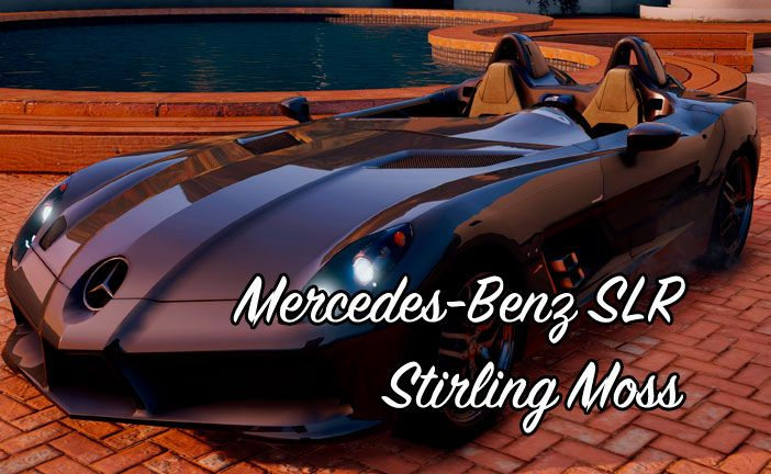 Mercedes-Benz SLR Stirling Moss для ГТА 5