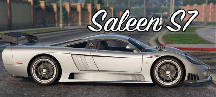 Saleen S7 в ГТА 5
