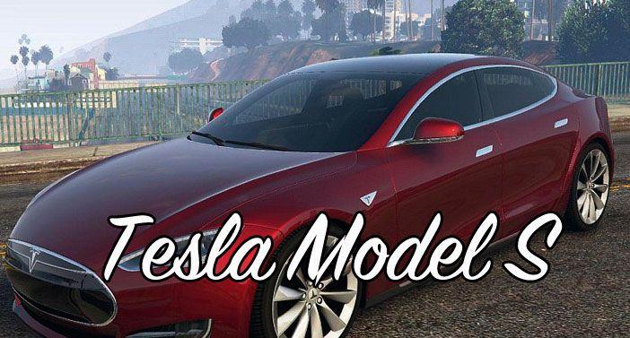 Мод Tesla Model S GTA 5