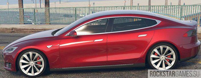 Tesla Model S для ГТА 5