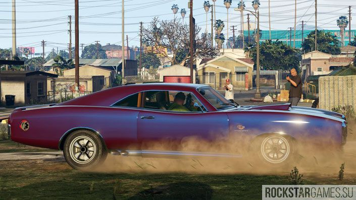 Тюнинг авто в GTA 5