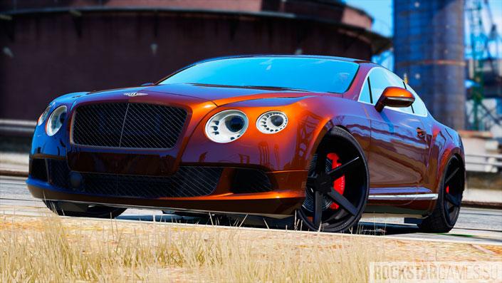 Bentley Continental GT в GTA 5