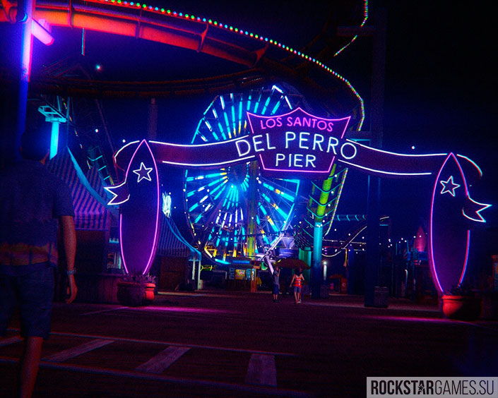 Парк развлечений в Лос-Сантосе