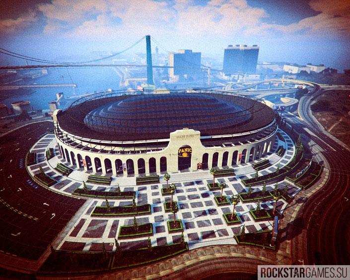 Стадион в Лос-Сантосе