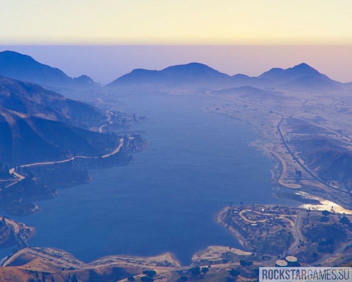 Озеро Аламо-Си в Лос-Сантосе