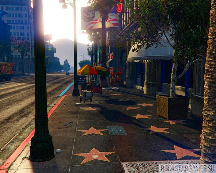 Аллея звезд в Лос-Сантосе