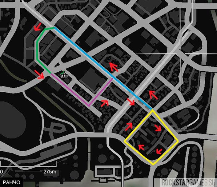 Карта поиска машин