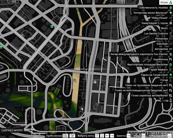 Карта с Boxville