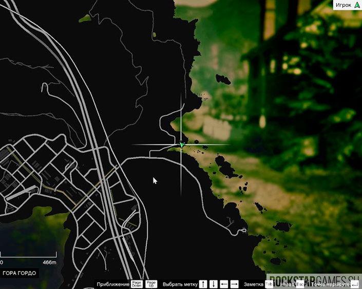 Карта с Tractor
