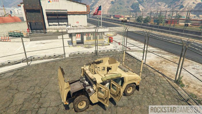 Мод M1116 Humvee для ГТА 5