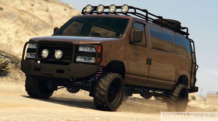 Бронированый фургон Rumpo custom