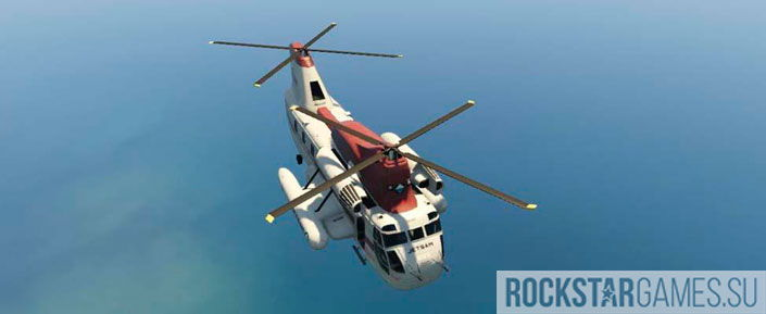 Вертолет Jetsam Cargobob
