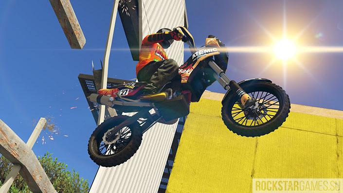 Мотоцикл для ралли кросса в GTA Online