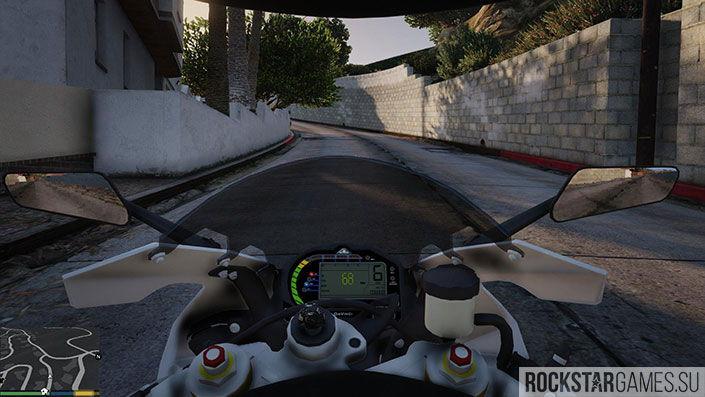 Мотоцикл BMW S1000 RR для GTA 5