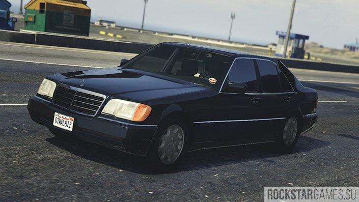 Мод Mercedes-Benz 600 для GTA 5