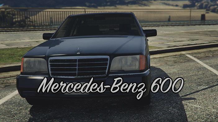 Mercedes-Benz 600 в ГТА 5