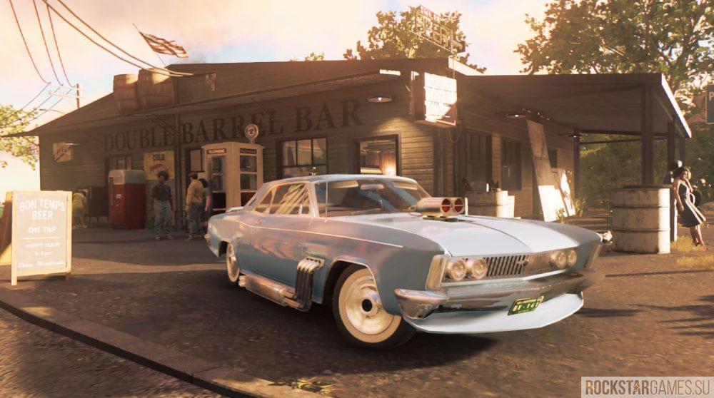 Уникальные автомобили в Mafia 3