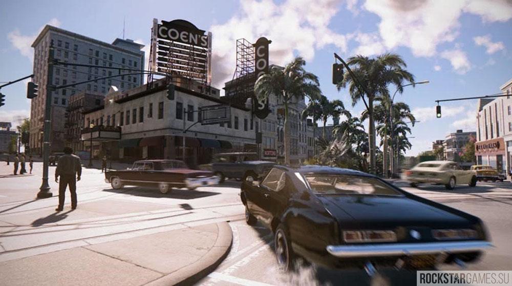 Доставка авто в Mafia 3