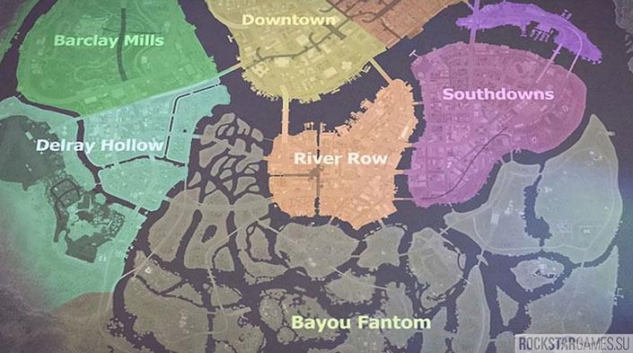 Районы в Mafia 3
