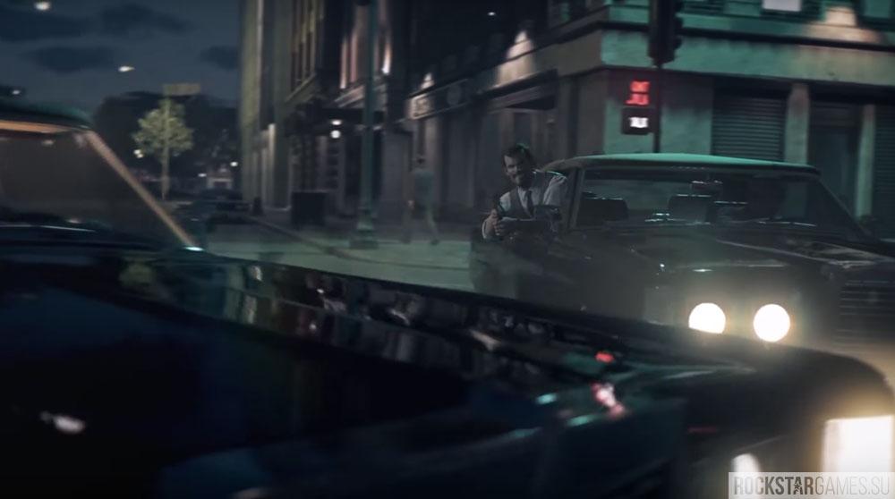 Стрельба из авто в Mafia 3