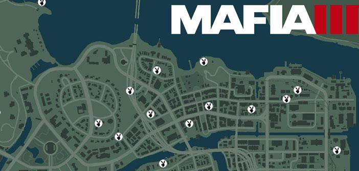 mafia 3 карта