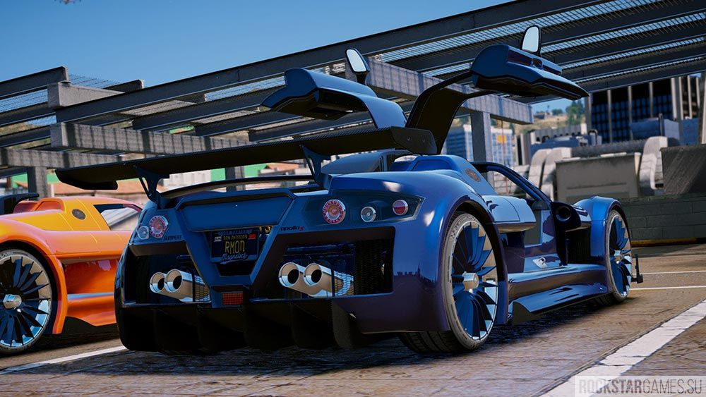 Мод Gumpert Apollo S для ГТА 5