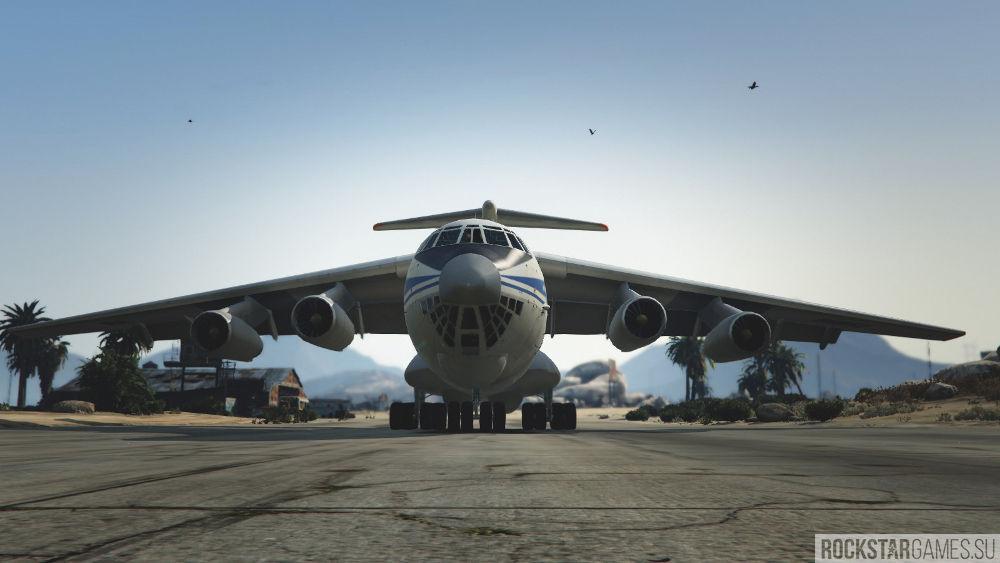 Мод ИЛ-76 для GTA 5