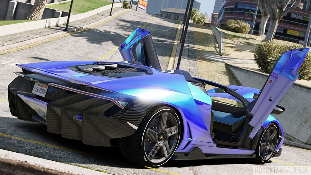Мод Lamborghini Centenario GTA 5