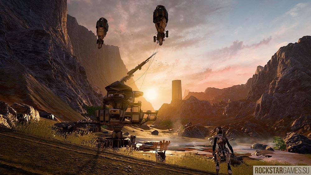 Иследование планет в Mass Effect: Andromeda