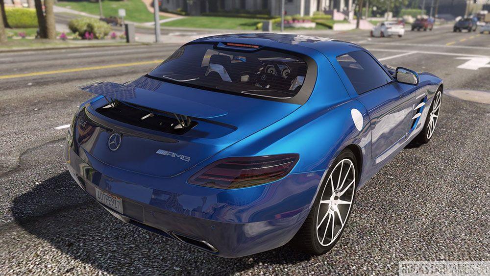 Мод Mercedes Benz SLS AMG для GTA 5