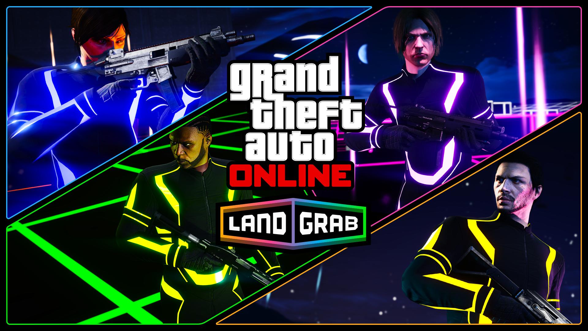 «Захвате территории» в GTA Online
