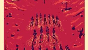 Творчество фанатов: плакат Red Dead Redemption за авторством Kath Anderson