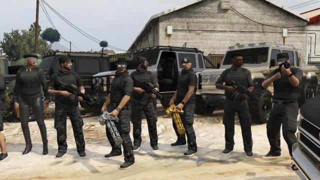 Создание банды в GTA Online