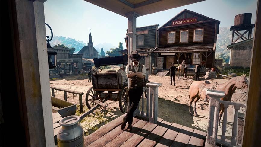 Первый скриншот Red Dead Redemption 2