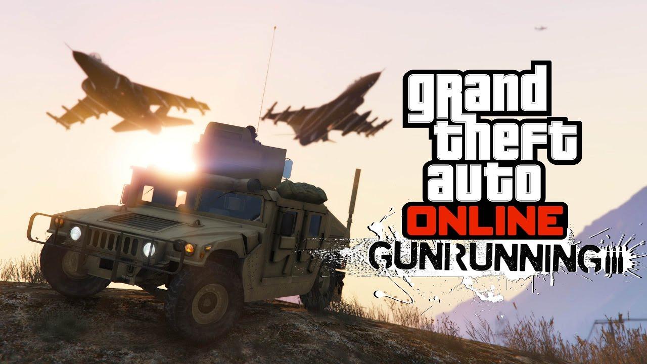 «Торговля оружием» GTA Online
