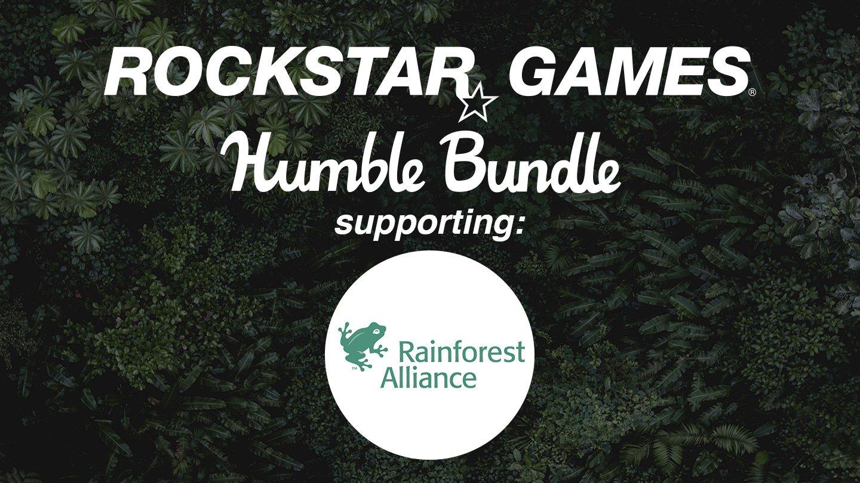Благотворительная акция Rockstar Games на HumbleBundle в поддержку Rainforest Alliance